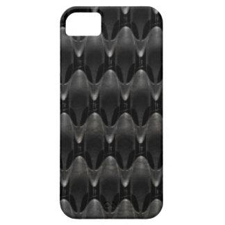 Black Carbon Fiber Alien Skin Case For iPhone 5/5S