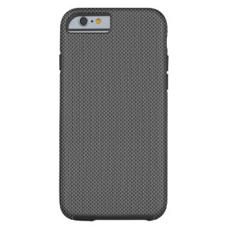 Black Carbon Fiber Base Tough iPhone 6 Case