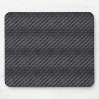 Black carbon fiber mouse mat