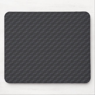 Black carbon fiber mouse mat