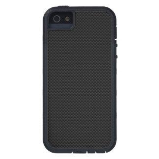 Black Carbon Fiber Style Print Decor Tough Xtreme iPhone 5 Case