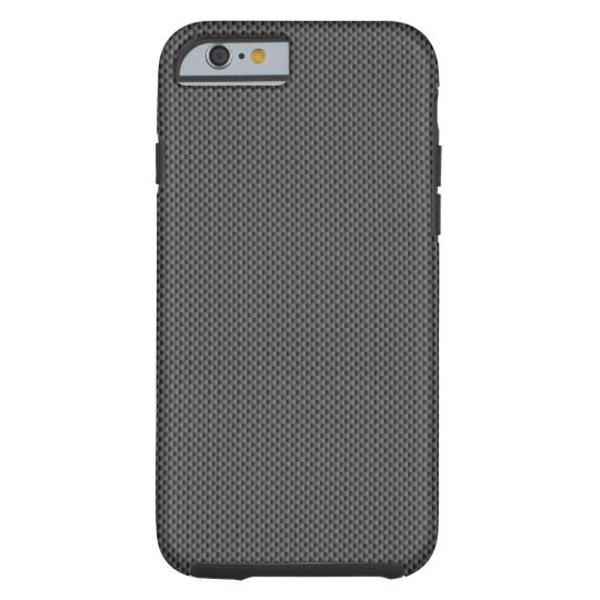 Black Carbon Fibre Base Tough iPhone 6 Case