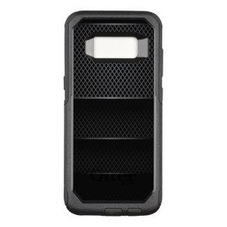 Black Carbon Mesh - OtterBox Commuter Samsung Galaxy S8 Case