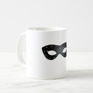 Black Carnival Mask Mug