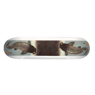 Black Carp 21.6 Cm Skateboard Deck