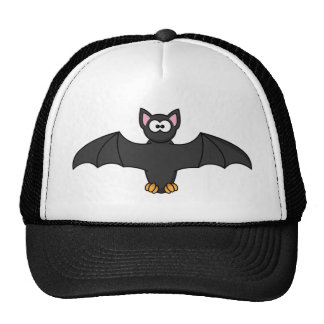 Black Cartoon Halloween Bat Cap