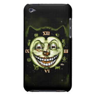 Black Cat 13 Clock Halloween Barely There iPod Covers
