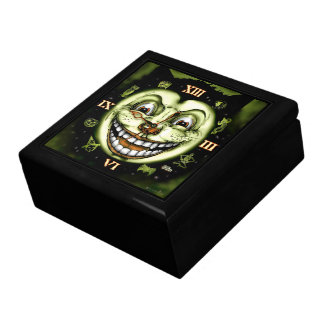 Black Cat 13 Clock Halloween Gift Box