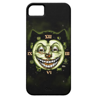 Black Cat 13 Clock Halloween iPhone 5 Cases