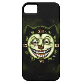 Black Cat 13 Clock Halloween iPhone 5 Cover