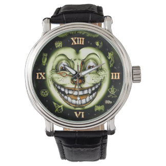 Black Cat 13 Clock Halloween Watch