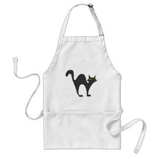 Black Cat (2) Standard Apron