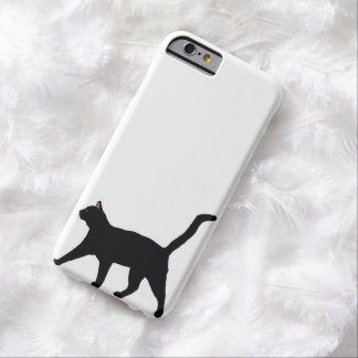 Black Cat 6/6s Barely There iPhone 6 Case