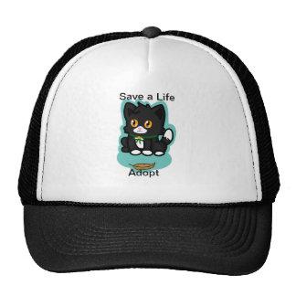 Black Cat Adopt Hats