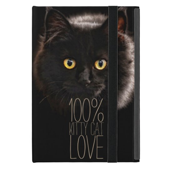 Black Cat and Name Cat Lover Cover For