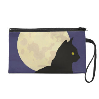 Black Cat and the Moon Wristlets