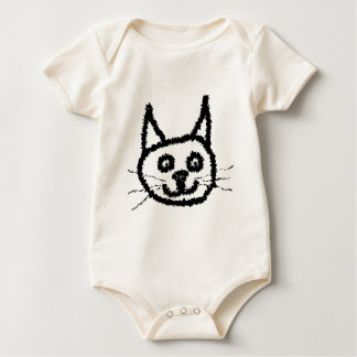Black Cat Baby Bodysuit