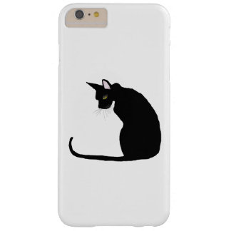 BLACK CAT BARELY THERE iPhone 6 PLUS CASE