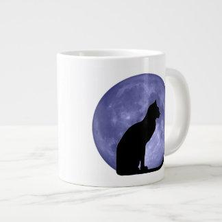 Black Cat Blue Moon Jumbo Mug