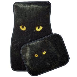 Black Cat Car Mat
