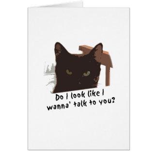 black cat card