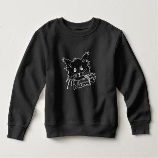Black Cat clothing - choose style & color Sweatshirt
