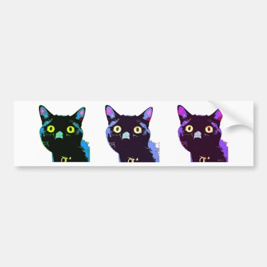 Black Cat Club bumper sticker