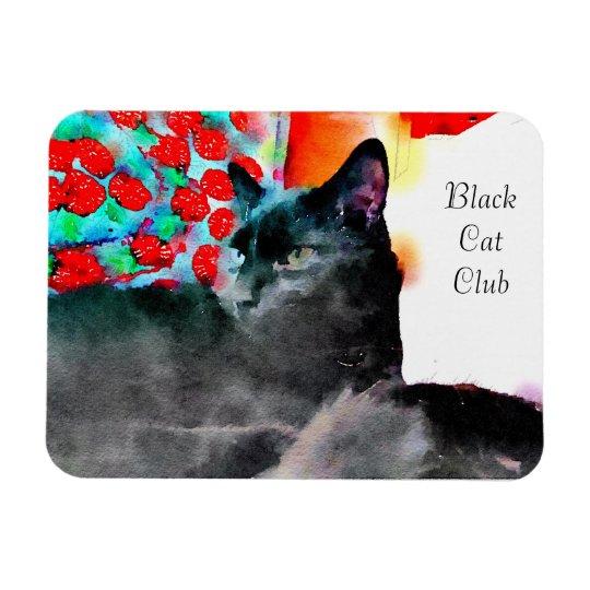 Black Cat Club magnet