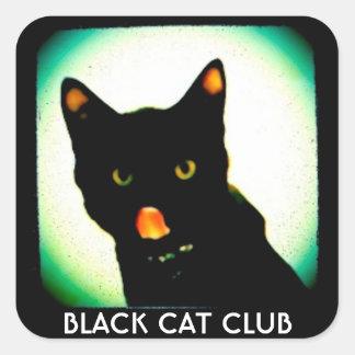 Black Cat Club small stickers