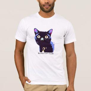 1a1ff5001 Black Cat Club T-Shirts & Shirt Designs | Zazzle UK