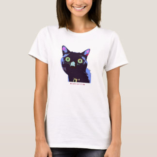 Black Cat Club t-shirt style