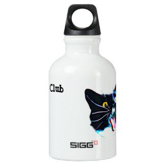 Black Cat Club Water Bottle
