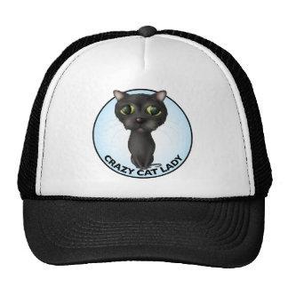 Black Cat - Crazy Cat Lady Hat