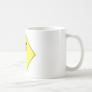 Black Cat Crossing Mug