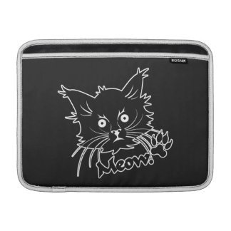 "Black Cat custom 13"" MacBook sleeve"