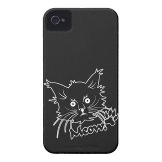 Black Cat custom Blackberry case