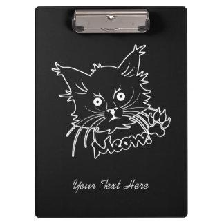 Black Cat custom clipboard
