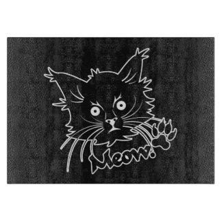 Black Cat custom cutting board