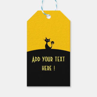 Black Cat Custom Gift Tags