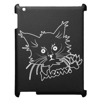 Black Cat custom iPad cases