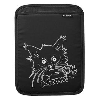 Black Cat custom iPad sleeve