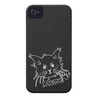 Black Cat custom iPhone case-mate