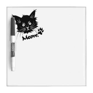 Black Cat custom message board Dry-Erase Boards