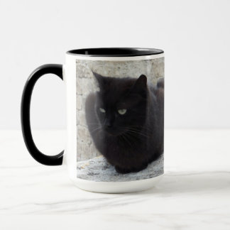Black Cat custom mug - choose style & color