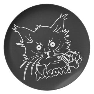 Black Cat custom plate