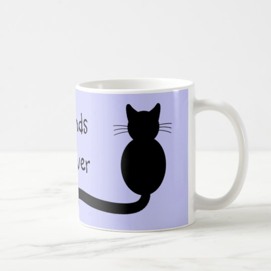 Black Cat Duo - Friends Furever Coffee Mug