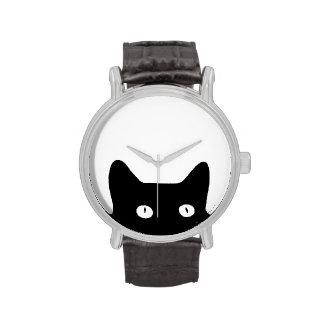 Black Cat Wrist Watch