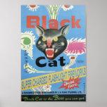 Black Cat Fireworks Posters