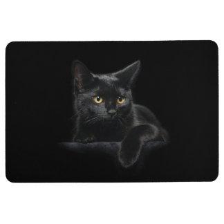 Black Cat Floor Mat