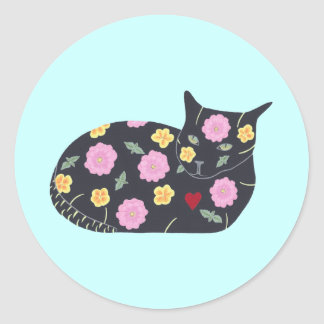 Black Cat Flowers Plants Cats Can Eat Stickers